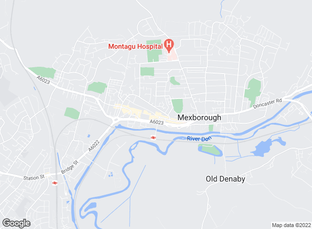 Map for Merryweathers, Mexborough