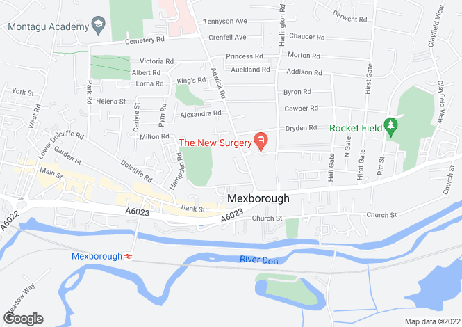 Map for Adwick Court, Mexborough S64