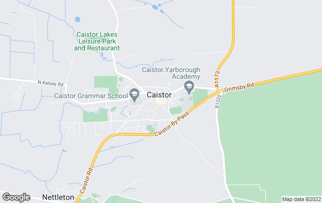 Map for Sanderson Green LLP, Caistor - Lettings