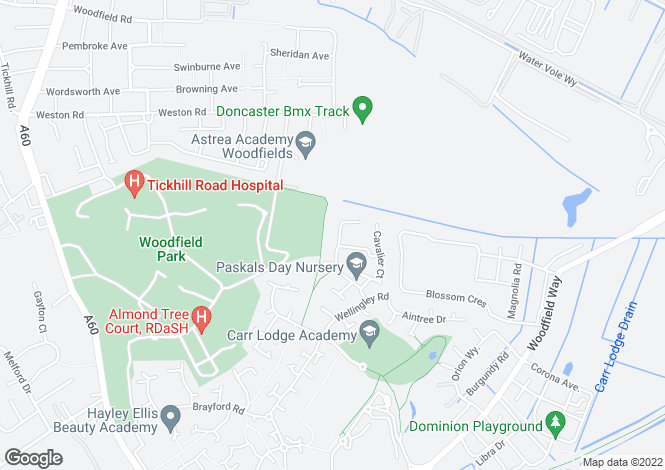 Map for Farnley Road, Balby, DONCASTER, South Yorkshire