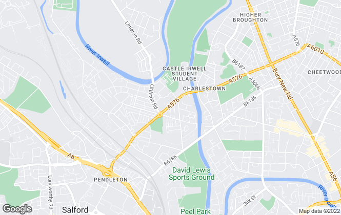 Map for Taylor Jackson, Salford
