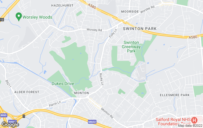 Map for Carr & Hume Estate Agents Limited, Swinton