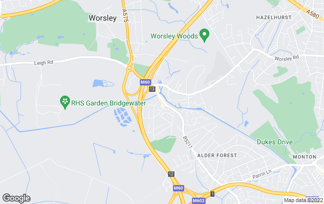Map for Briscombe, Nutter & Staff, Worsley