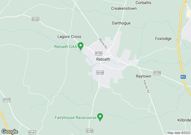 Map for 76 Clonkeen, Fairyhouse Road, Ratoath, Co Meath