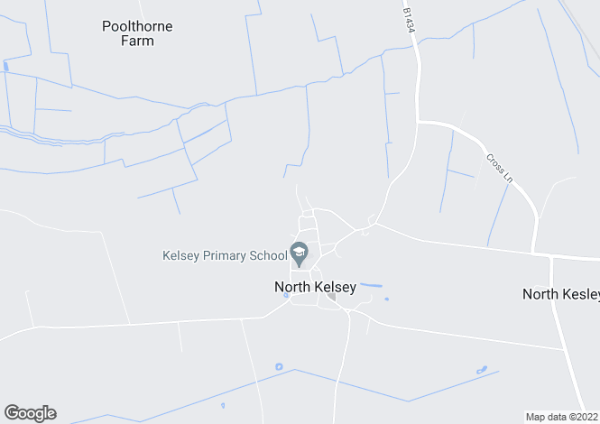 Map for Little London, North Kelsey, LN7