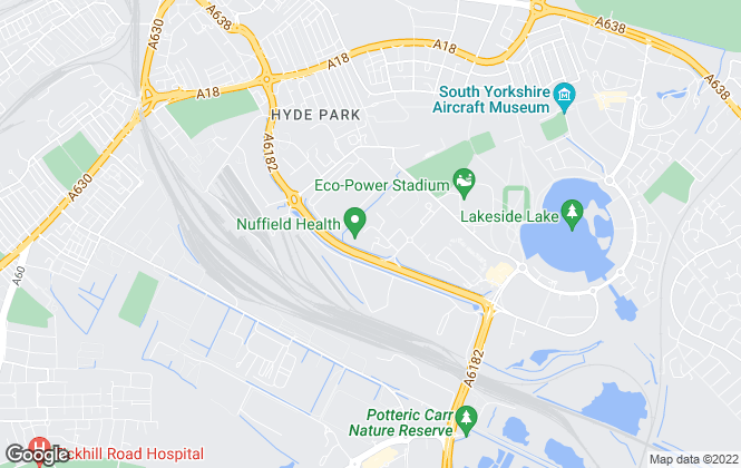 Map for Barnsdales Living, Doncaster