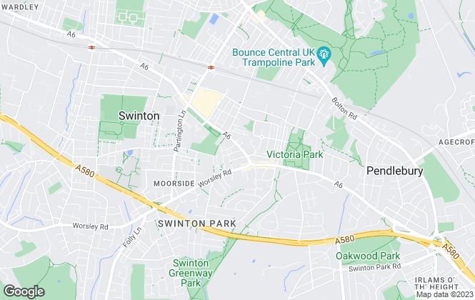 Map for Thornley Groves, Swinton