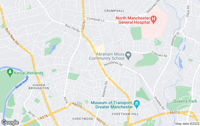 Map for Pearson Ferrier , Cheetham Hill