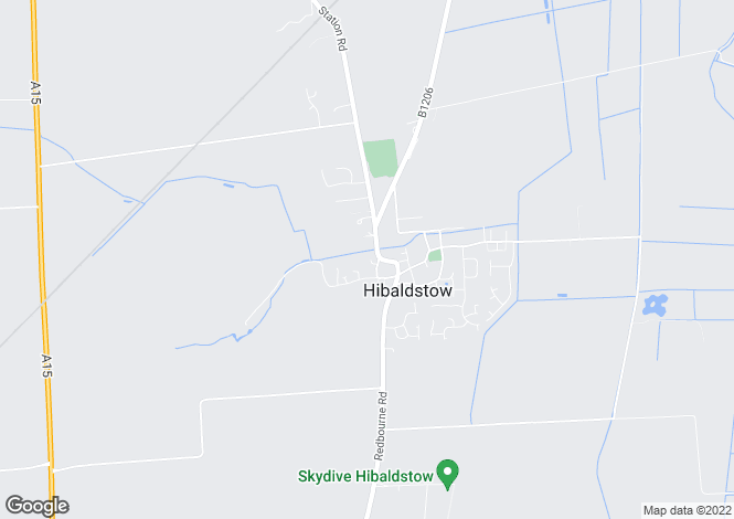 Map for Dickinson Close, Hibaldstow, Brigg