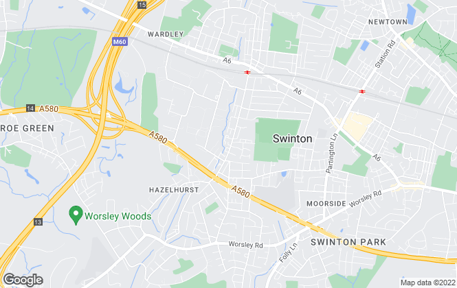 Map for Hannon Holmes Limited, Swinton