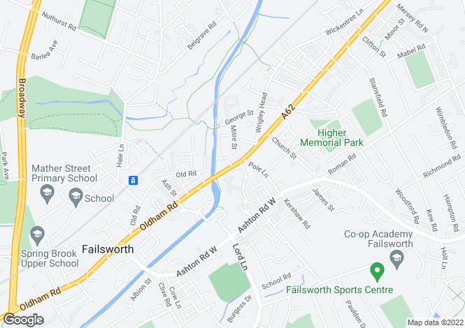Map for - Oldham Road Failsworth Manchester