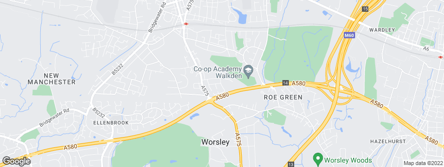 Map for Eccleston Homes