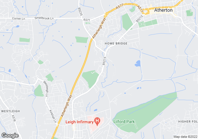 Map for Hansom Drive, Atherton, Manchester