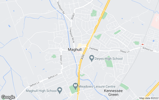 Map for Ian Crane, Maghull