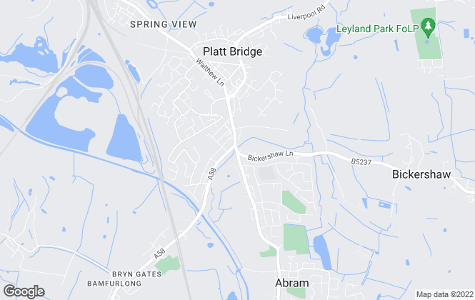 Map for Lobster Lettings, Wigan & Warrington