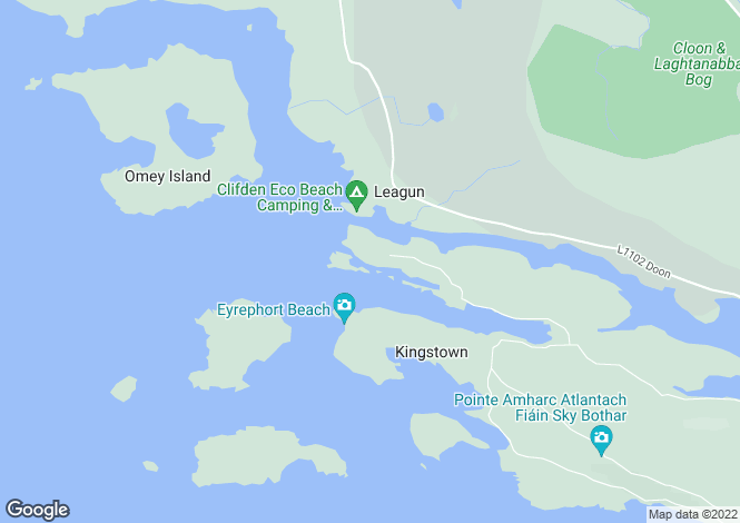 Map for Coolacloy, Clifden, Co.Galway