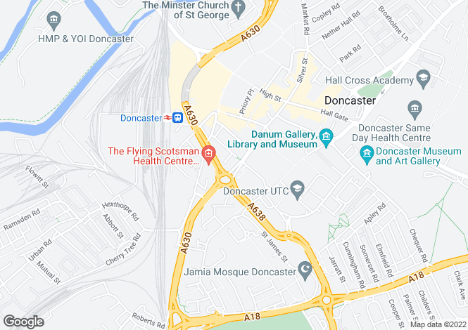 Map for Fraser House