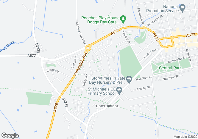 Map for Gadbury Court Gadbury Fold M46 0SQ