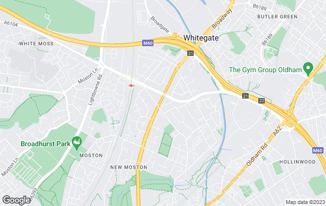 Map for Ryder & Dutton, Chadderton