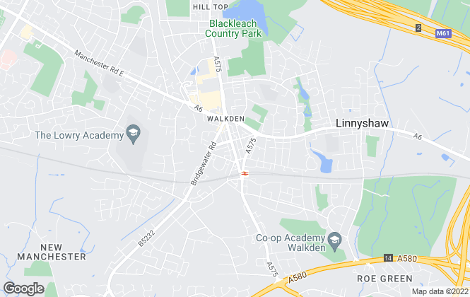 Map for Pick My Pad, Walkden