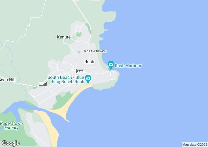 Map for 109 Lower Main Street, Rush, Co. Dublin, Rush, County Dublin