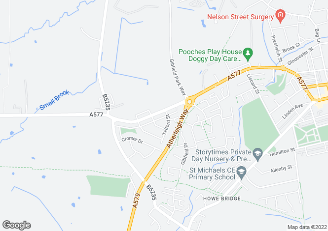 Map for Wigan Road,