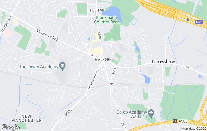 Map for Your Move , Walkden