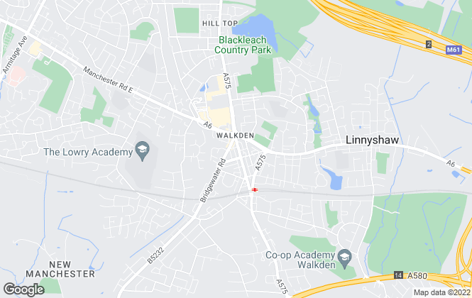 Map for YOUR MOVE, Walkden
