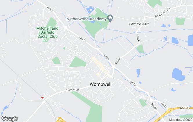 Map for YOUR MOVE Furness-Lyman, Wombwell