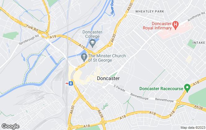 Map for Kembles Estates , Doncaster