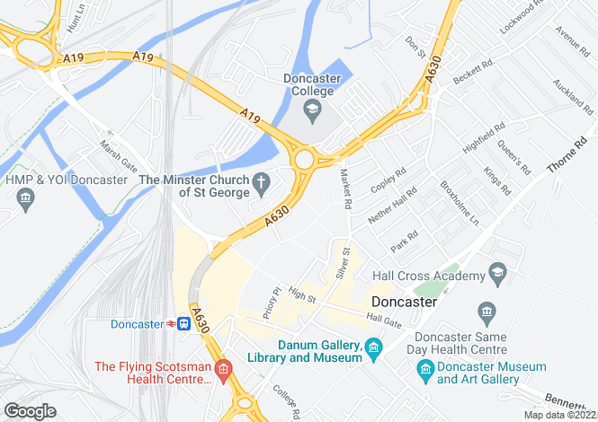 Map for High Fisher View, High Fishergate, Doncaster, DN1 1QZ