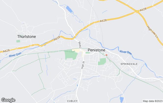 Map for Simon Blyth, Penistone