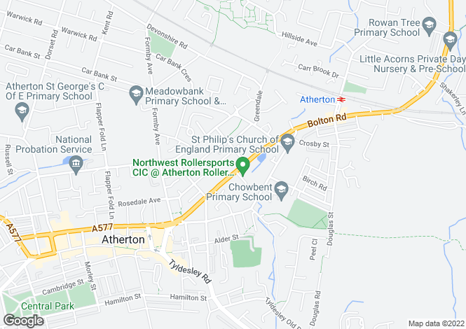 Map for Bolton Road,