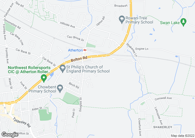 Map for Marton Drive, Atherton, Manchester
