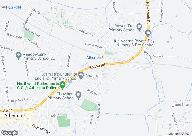 Map for Bolton Road
