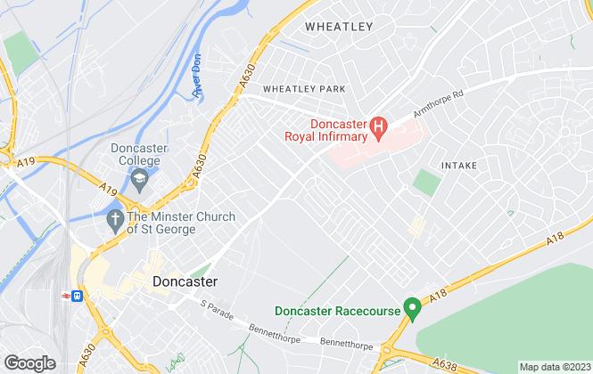 Map for Highfield Property Management, Doncaster