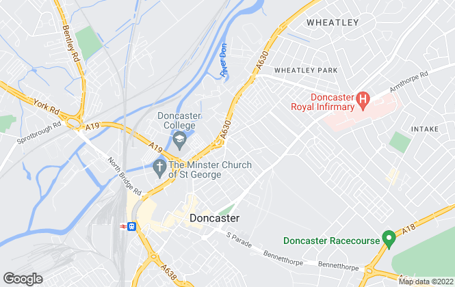 Map for 1st Choice For Property Ltd, Doncaster