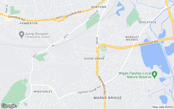 Map for Parkinson Property Consultants, Wigan