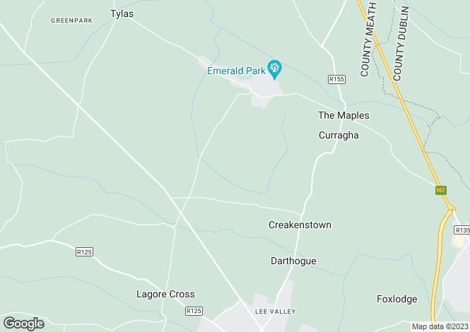 Map for Bodeen Lane, Bodeen, Ratoath, Co Meath