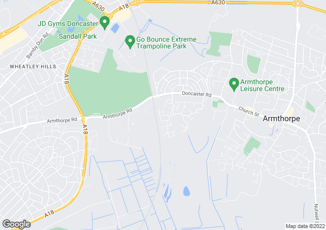 Map for Walstow Crescent, Armthorpe, Doncaster, DN3