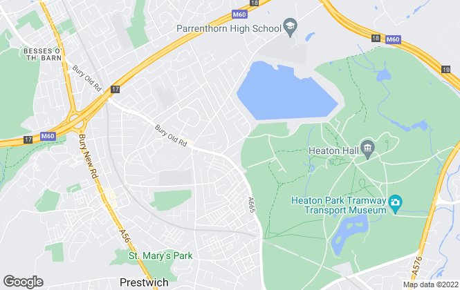 Map for Hyde Estate & Lettings Agents, Manchester