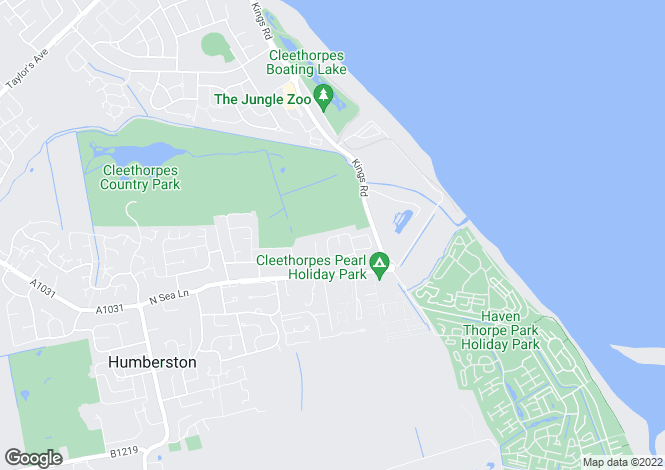 Map for Riverside Drive, Cleethorpes