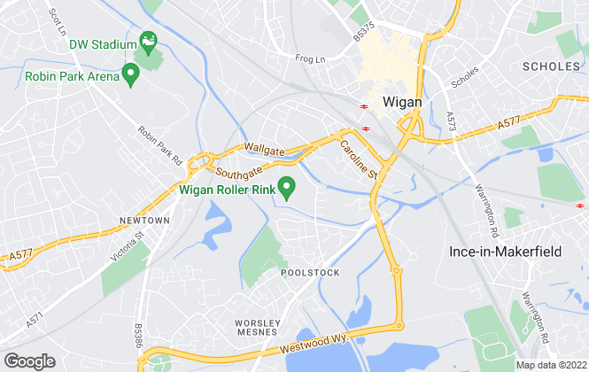 Map for The Storage Team Limited, Wigan