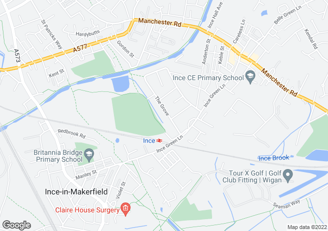 Map for The Grove,
