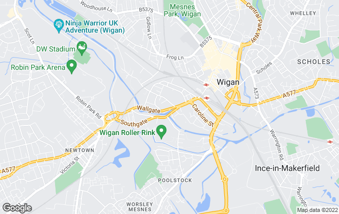 Map for To Let, Wigan