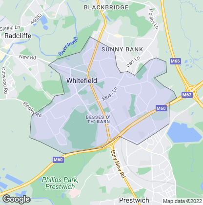 Map of property in Whitefield