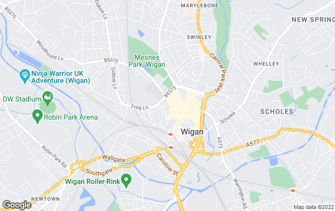 Map for Sapphire Homes, Wigan