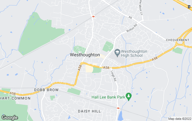 Map for Entwistle Green, Westhoughton