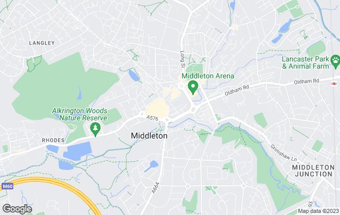 Map for Ryder & Dutton, Middleton