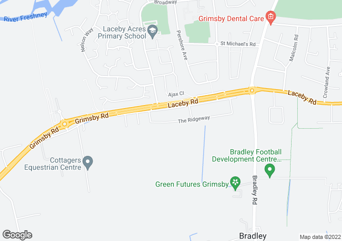 Map for The Ridgeway, Grimsby, DN34 5PQ
